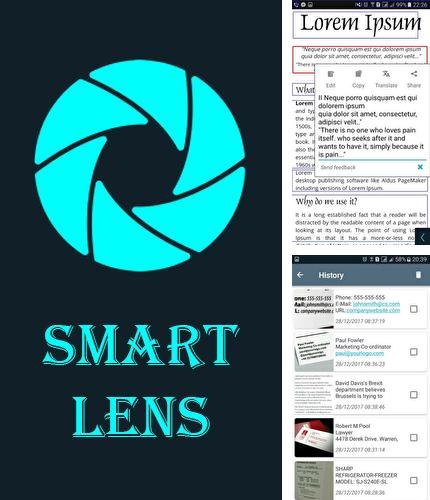 Besides Droid VPN Android program you can download Smart lens - Text scanner for Android phone or tablet for free.