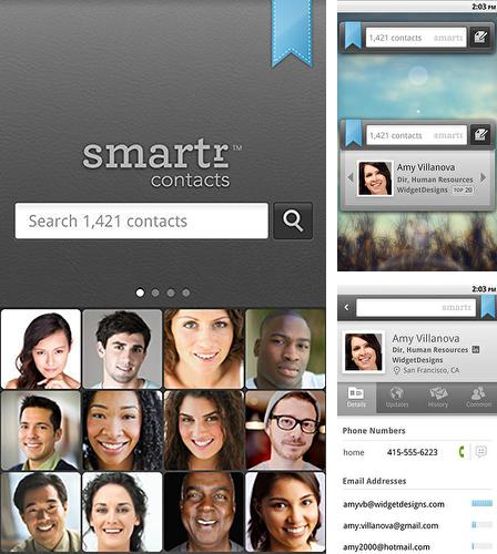 Download Smartr contacts for Android phones and tablets.