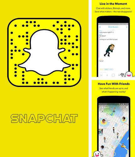 Besides Tiny scanner - PDF scanner Android program you can download Snapchat for Android phone or tablet for free.