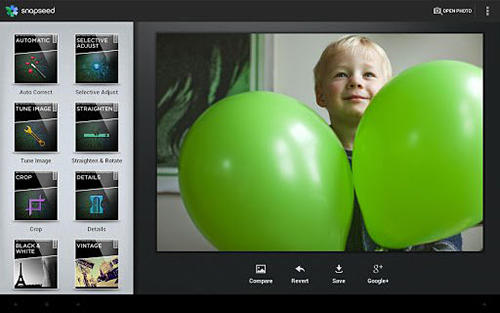 Download Snapseed for Android for free. Apps for phones and tablets.