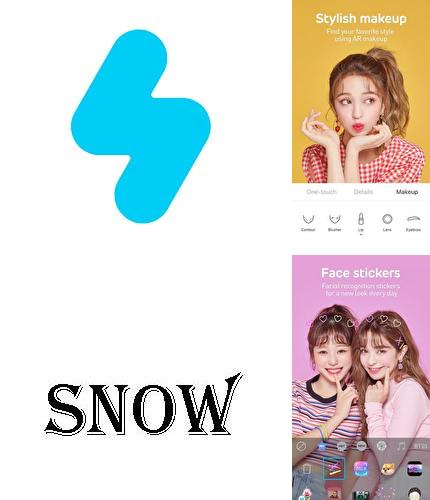 Descargar gratis SNOW - Beauty & makeup camera para Android. Apps para teléfonos y tabletas.