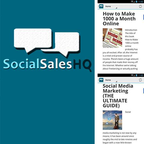 Download Social Sales HQ for Android phones and tablets.