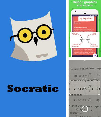 Descargar gratis Socratic - Math answers & homework help para Android. Apps para teléfonos y tabletas.
