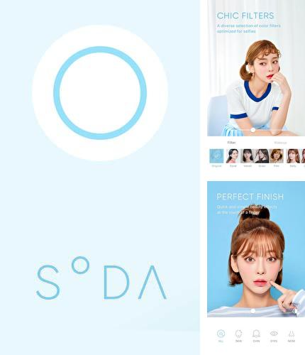 Besides Cover photo maker Android program you can download SODA - Natural beauty camera for Android phone or tablet for free.