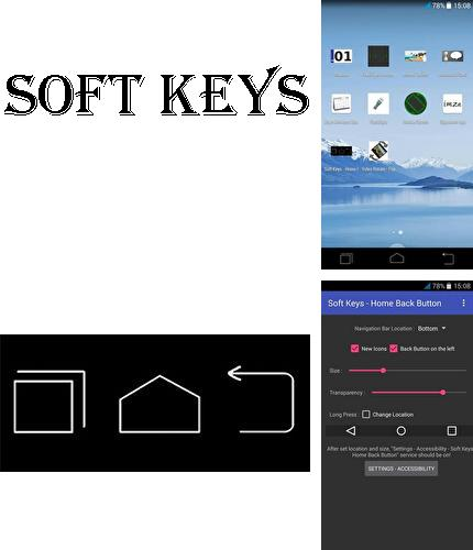 Besides Musicolet: Music player Android program you can download Soft keys - Home back button for Android phone or tablet for free.
