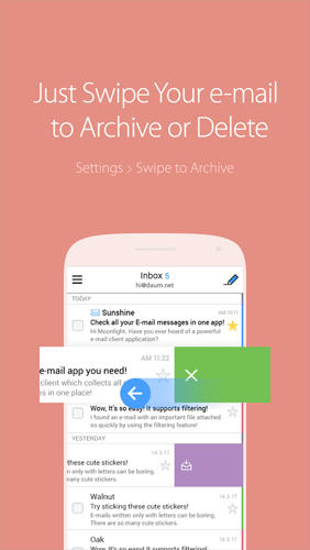 SolMail: All in One Email app for Android, download programs for phones and tablets for free.