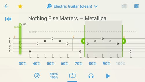 Songsterr: Guitar tabs & chords app for Android, download programs for phones and tablets for free.