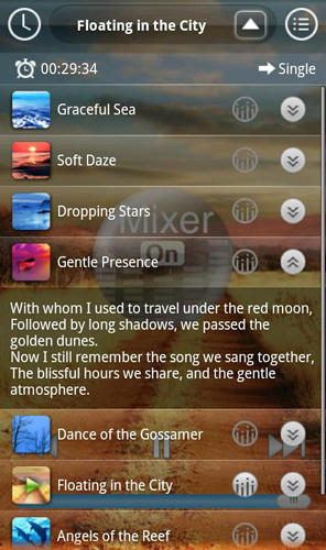 Sound sleep: Deluxe app for Android, download programs for phones and tablets for free.