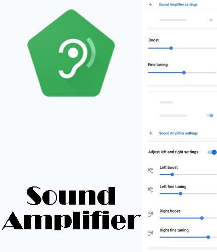 Download Sound amplifier for Android phones and tablets.