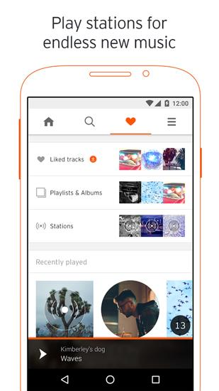 SoundCloud app for Android, download programs for phones and tablets for free.