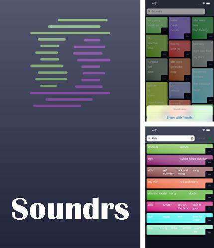 Download Soundrs for Android phones and tablets.