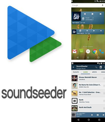 Besides Translit Android program you can download SoundSeeder for Android phone or tablet for free.