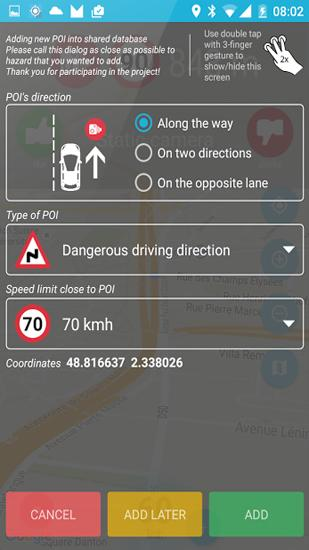 Speed Camera Radar app for Android, download programs for phones and tablets for free.