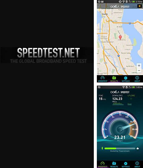 Besides Listonic: Grocery shopping list Android program you can download Speedtest for Android phone or tablet for free.