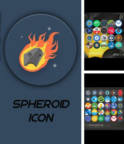 Besides Unwired hotspots Android program you can download Spheroid icon for Android phone or tablet for free.
