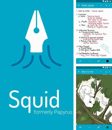 Descargar gratis Squid - Take notes & Markup PDFs para Android. Apps para teléfonos y tabletas.