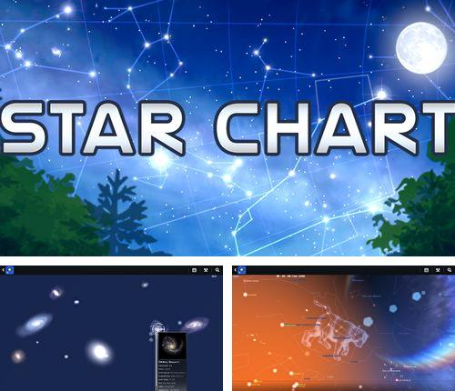 Besides File sharing - Send anywhere Android program you can download Star chart for Android phone or tablet for free.