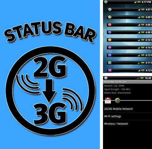 Download Status bar 2G-3G for Android phones and tablets.