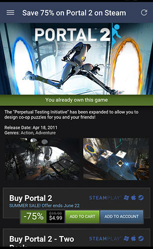 Download Steam for Android for free. Apps for phones and tablets.