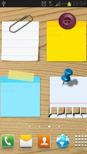 Sticky notes app for Android, download programs for phones and tablets for free.
