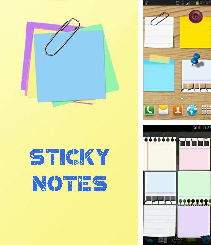 Download Sticky notes for Android phones and tablets.