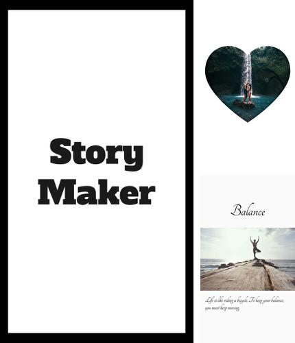 Besides Hola launcher Android program you can download Story maker - Create stories to Instagram for Android phone or tablet for free.