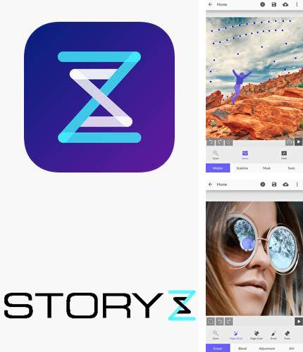 Descargar gratis StoryZ: Photo motion & cinemagraph para Android. Apps para teléfonos y tabletas.