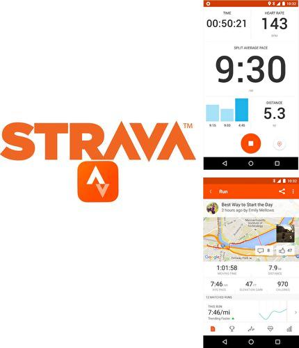 Además del programa Catch notes para Android, podrá descargar Strava running and cycling GPS para teléfono o tableta Android.