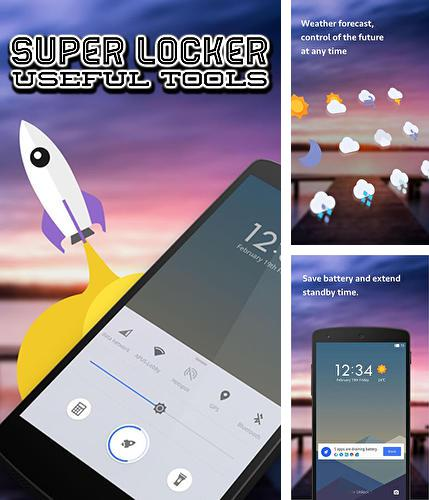 Descargar gratis Super Locker: Useful tools para Android. Apps para teléfonos y tabletas.