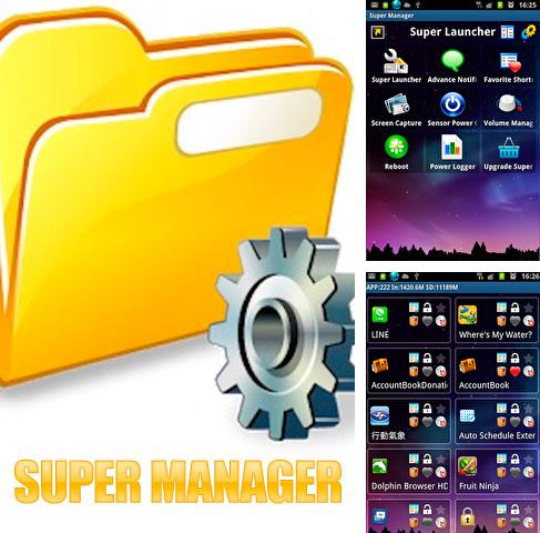 Besides PicsArt photo studio: Collage maker & pic editor Android program you can download Super Manager for Android phone or tablet for free.
