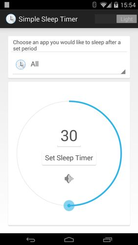 Download Super simple sleep timer for Android for free. Apps for phones and tablets.