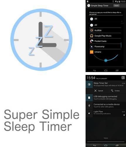Besides Best converter Android program you can download Super simple sleep timer for Android phone or tablet for free.