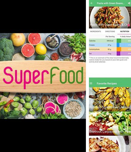 Descargar gratis SuperFood - Healthy Recipes para Android. Apps para teléfonos y tabletas.