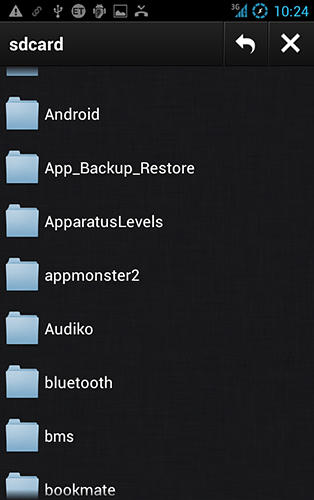 Screenshots des Programms Swarm torrent client für Android-Smartphones oder Tablets.