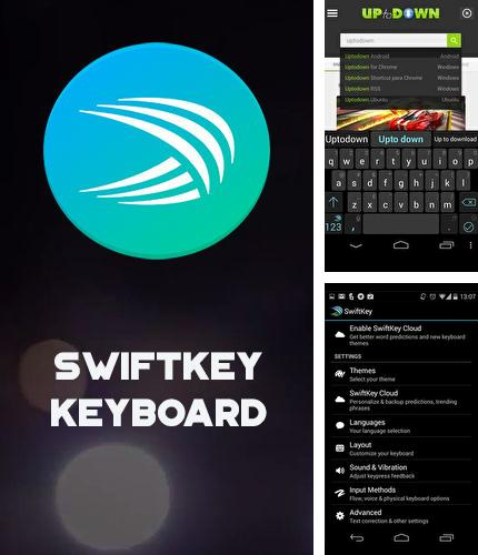 Besides Device info: Hardware & software Android program you can download SwiftKey keyboard for Android phone or tablet for free.