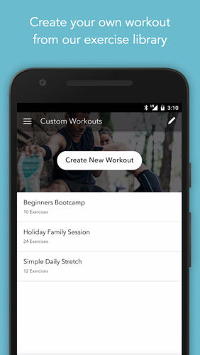 Sworkit: Personalized Workouts app for Android, download programs for phones and tablets for free.