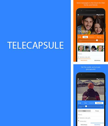 Besides Back Country Navigator Android program you can download Telecapsule: Time Capsule for Android phone or tablet for free.