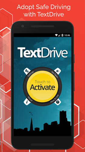 Descargar gratis Text Drive: No Texting While Driving para Android. Programas para teléfonos y tabletas.
