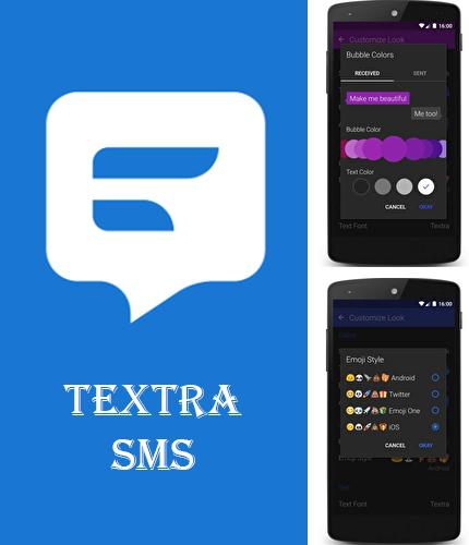 Download Textra SMS for Android phones and tablets.