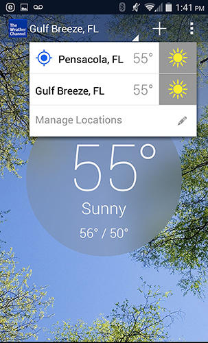 Download The weather channel for Android for free. Apps for phones and tablets.