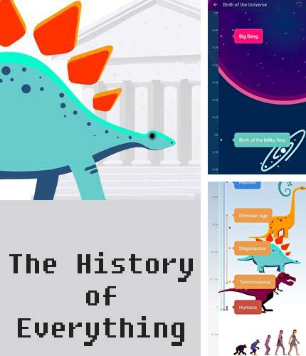 Besides 2 tap launcher Android program you can download The history of everything for Android phone or tablet for free.