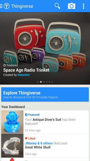 Download Thingiverse for Android for free. Apps for phones and tablets.