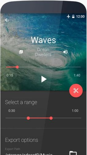 Descargar gratis Timbre: Cut, join, convert mp3 video para Android. Programas para teléfonos y tabletas.