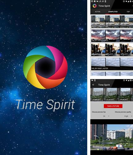 Besides Memoria photo gallery Android program you can download Time Spirit: Time lapse camera for Android phone or tablet for free.