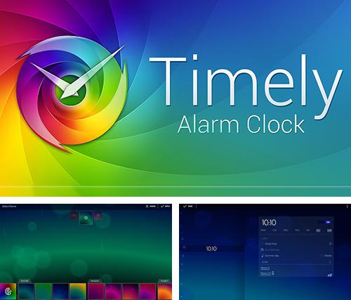 Download Timely alarm clock for Android phones and tablets.