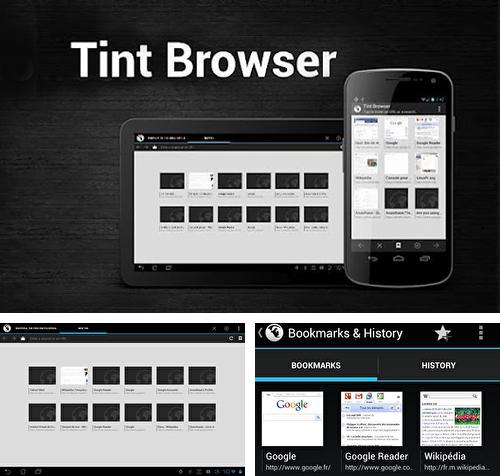 Besides Yahoo weather Android program you can download Tint browser for Android phone or tablet for free.
