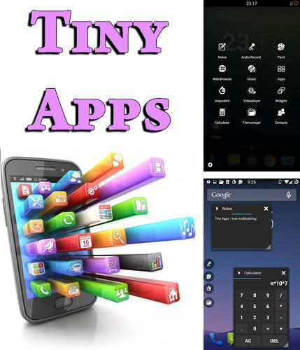 Besides Todo.txt Android program you can download Tiny apps for Android phone or tablet for free.