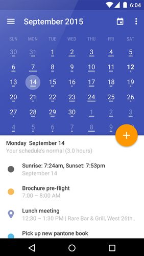 Download Today calendar for Android for free. Apps for phones and tablets.