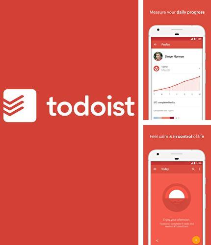 Neben dem Programm C Notice für Android kann kostenlos Todoist: To-do lists for task management & errands für Android-Smartphones oder Tablets heruntergeladen werden.
