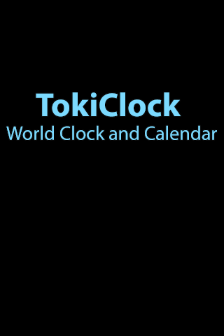 TokiClock: World Clock and Calendar